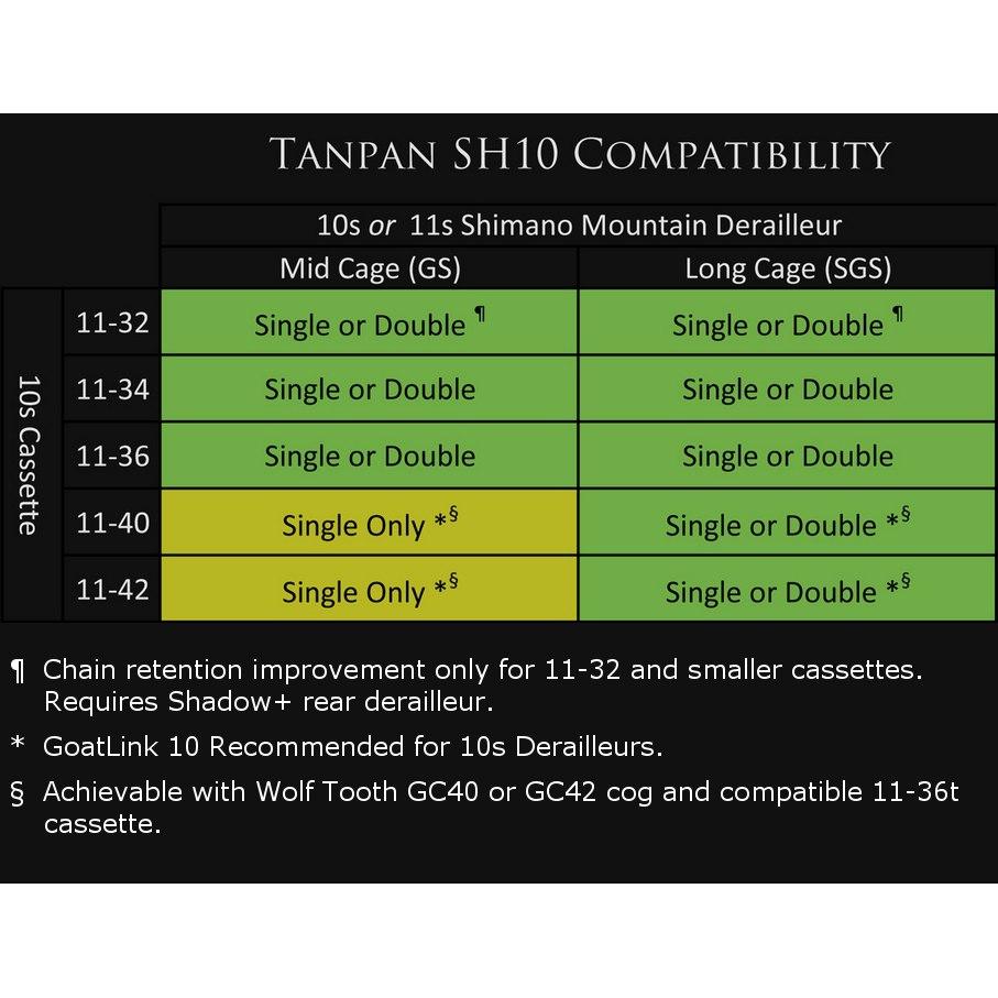 Image of Wolf Tooth Tanpan SH10 Inline Shifting Range Extender for Shimano 10-speed