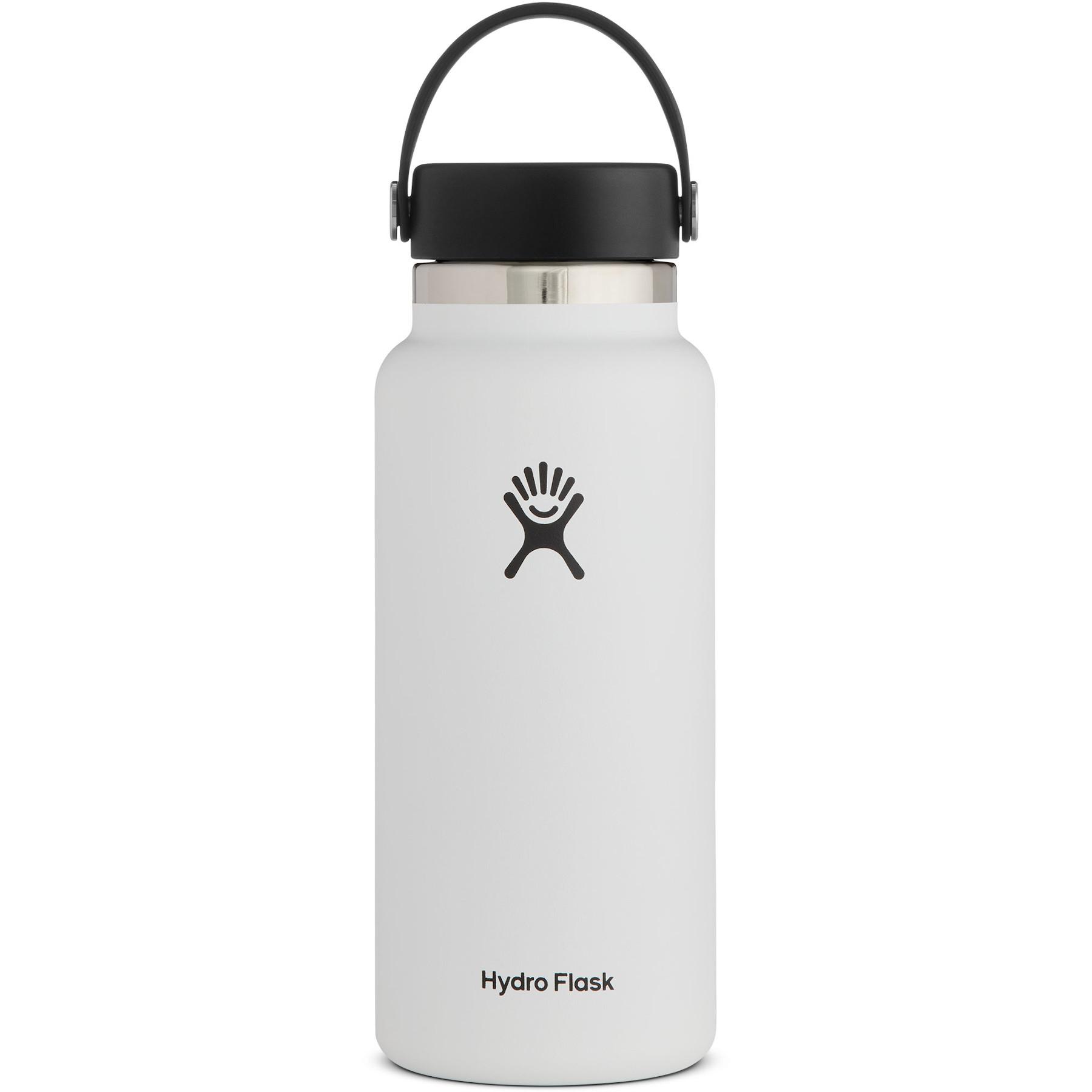 Produktbild von Hydro Flask 32 oz Wide Mouth mit Flex Cap 2.0 Thermoflasche 946 ml - White