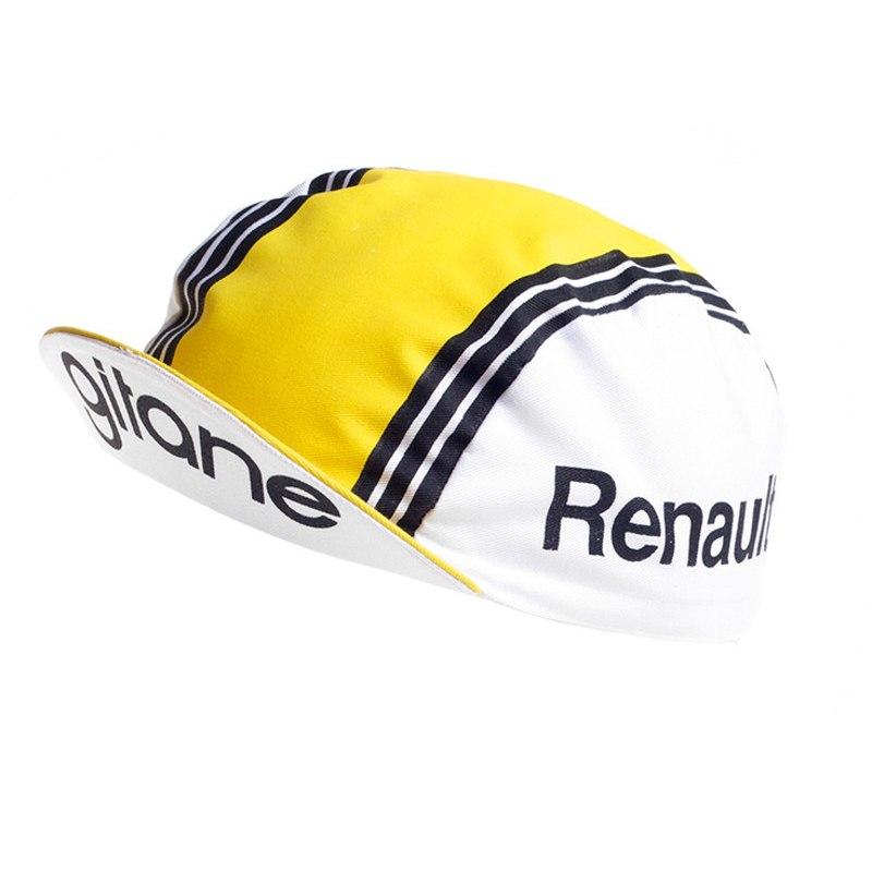 Apis Retro Style Team Cycling Cap - RENAULT