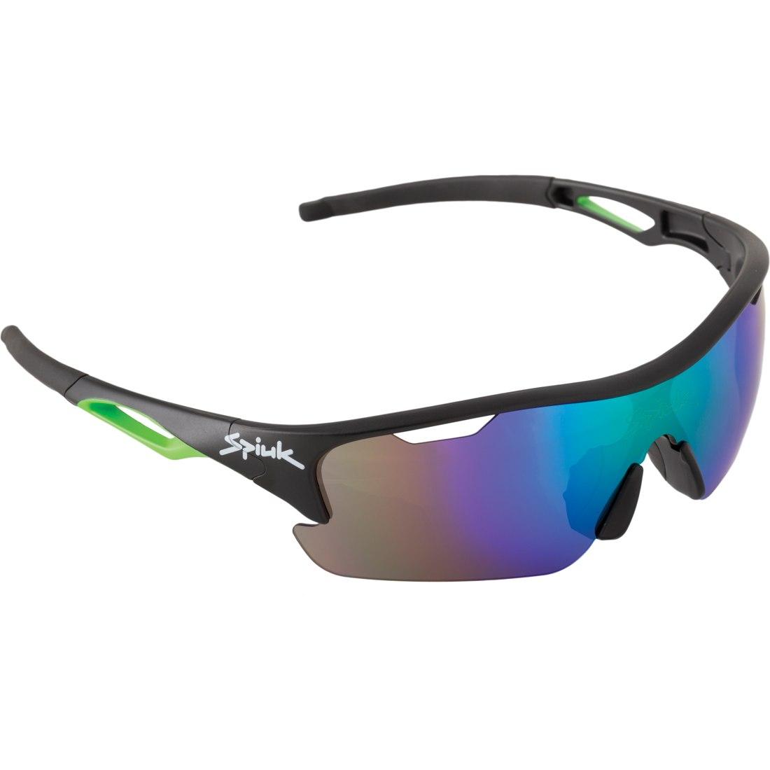 Spiuk Jifter Black/Green Mirror Green Brille