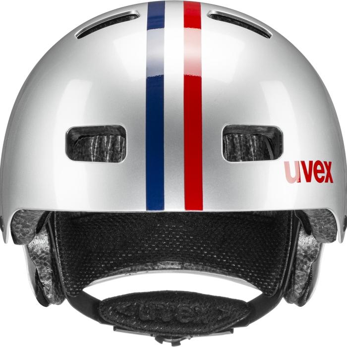 Image of Uvex kid 3 Kids Helmet - race silver
