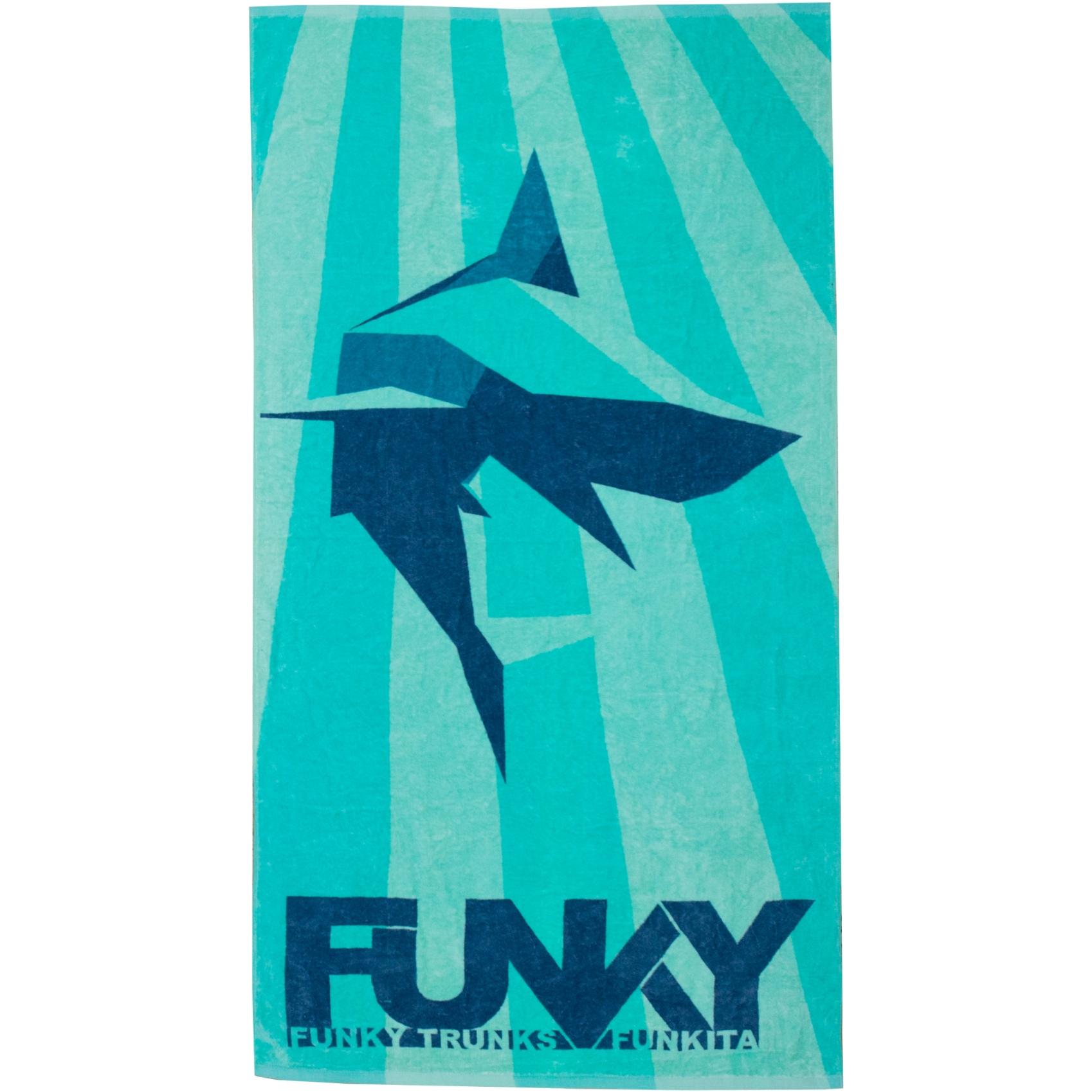 Produktbild von Funky Trunks Handtuch - Shark Bay