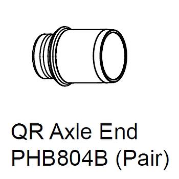 Chris King QR Insert Pair - QR 10x12mm - PHB804B