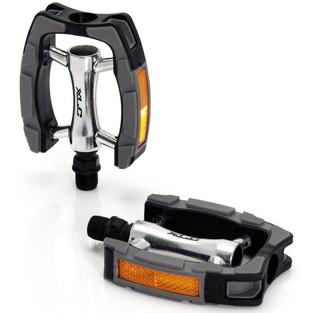 XLC PD-C07 Comfort Pedal - schwarz/silber/grau
