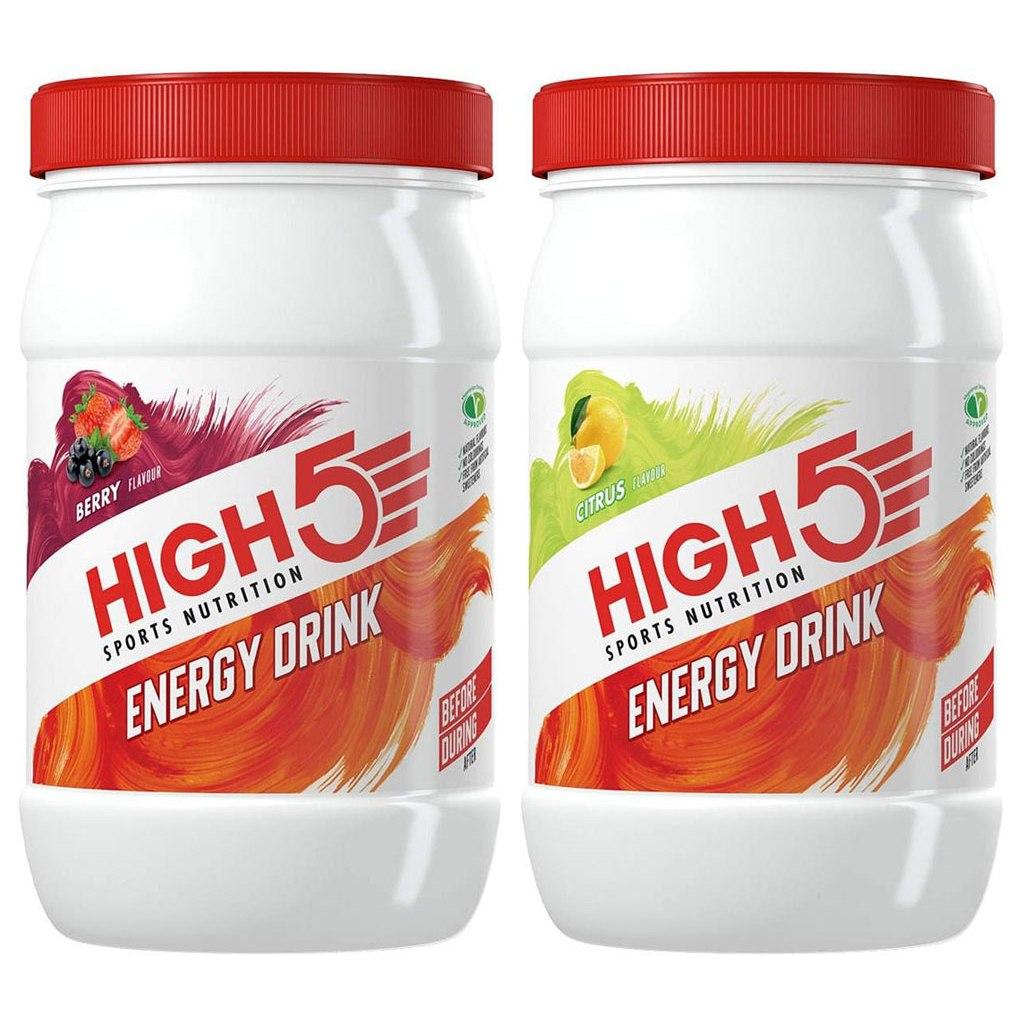 Produktbild von High5 Energy Drink - Kohlenhydrat-Getränkepulver - 1000g