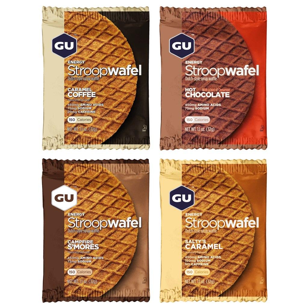 GU Stroopwafel - Carbohydrate Syrup Waffle - 8x32g