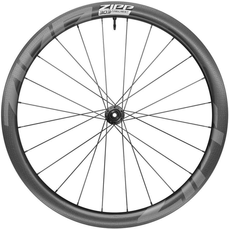 ZIPP 303 Firecrest Carbon Vorderrad - Tubeless - Centerlock - 12x100mm - schwarz
