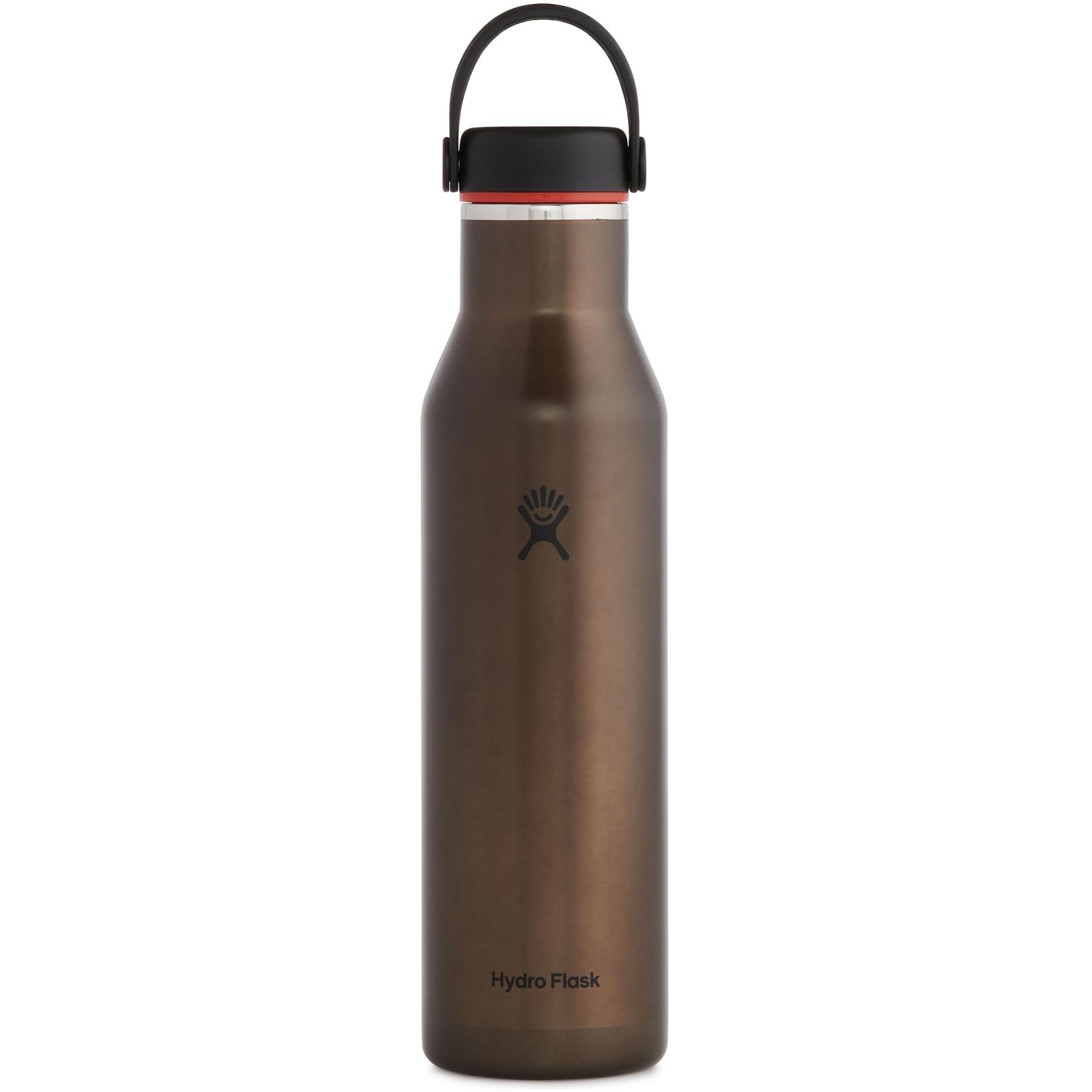 Produktbild von Hydro Flask 21oz Lightweight Standard Flex Cap Thermoflasche - 621ml - Obsidian