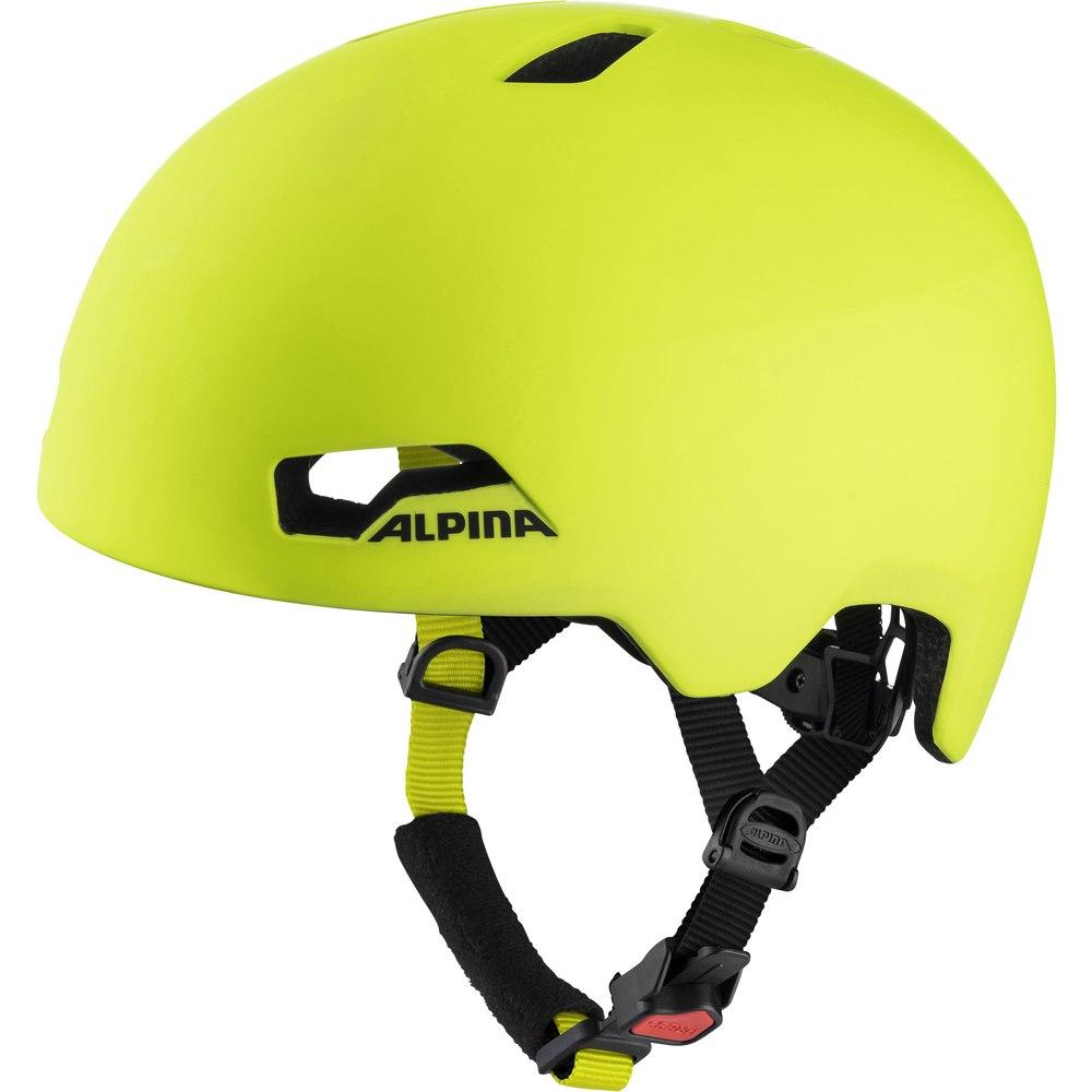 Alpina Hackney Kids Helmet - be visible