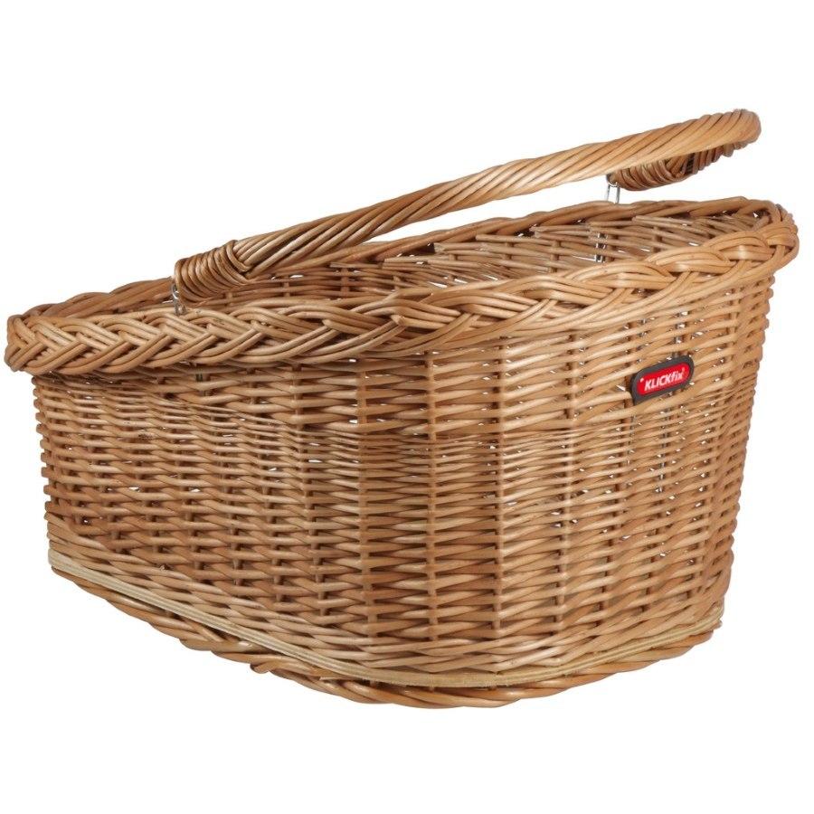 KLICKfix Wicker Basket for Racktime Carriers 0398R