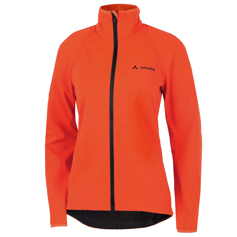 Vaude Women's Matera Softshell Jacket - neon orange