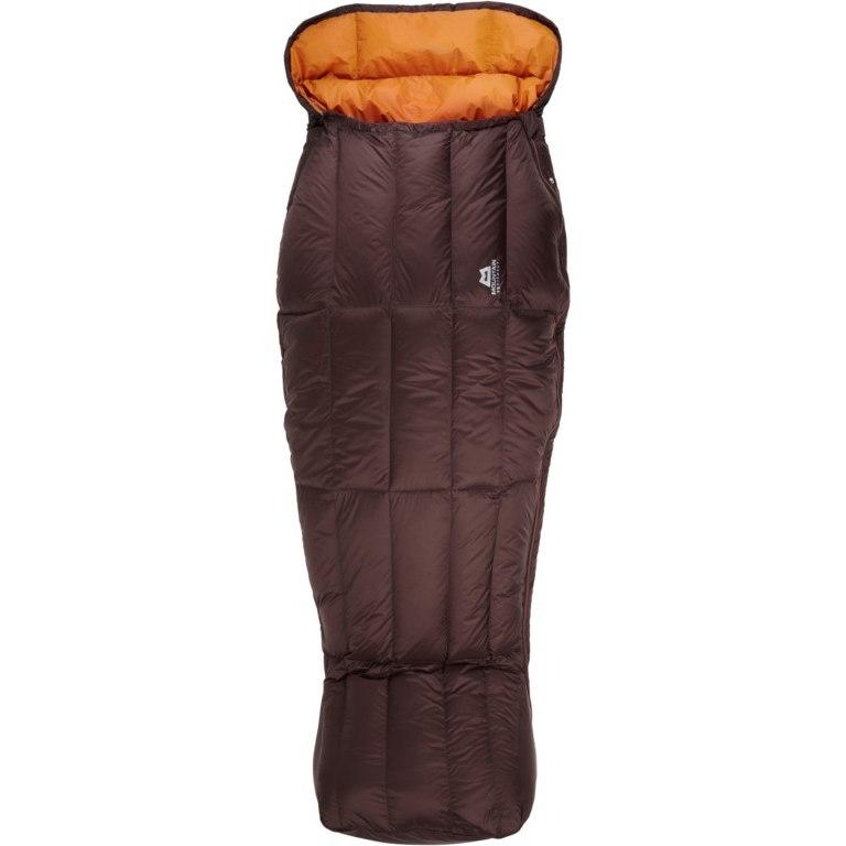 Mountain Equipment Dream Spellbinder Womens Sleeping Bag ME-003566 - Dark Chocolate/Blaze