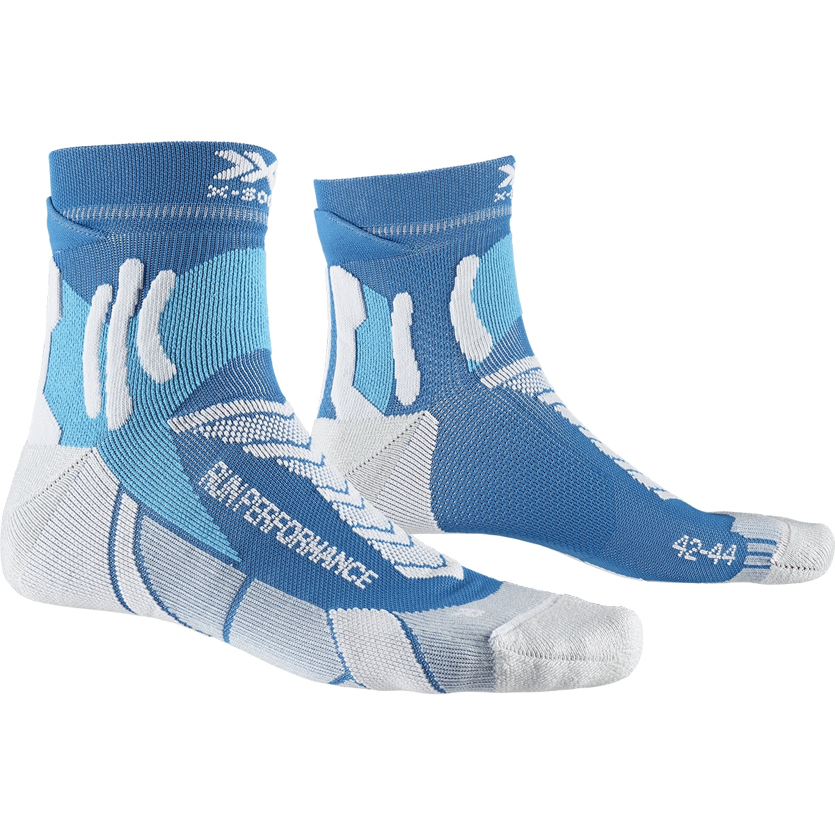 Foto de X-Socks Run Performance Calcetines de correr - teal blue/pearl grey