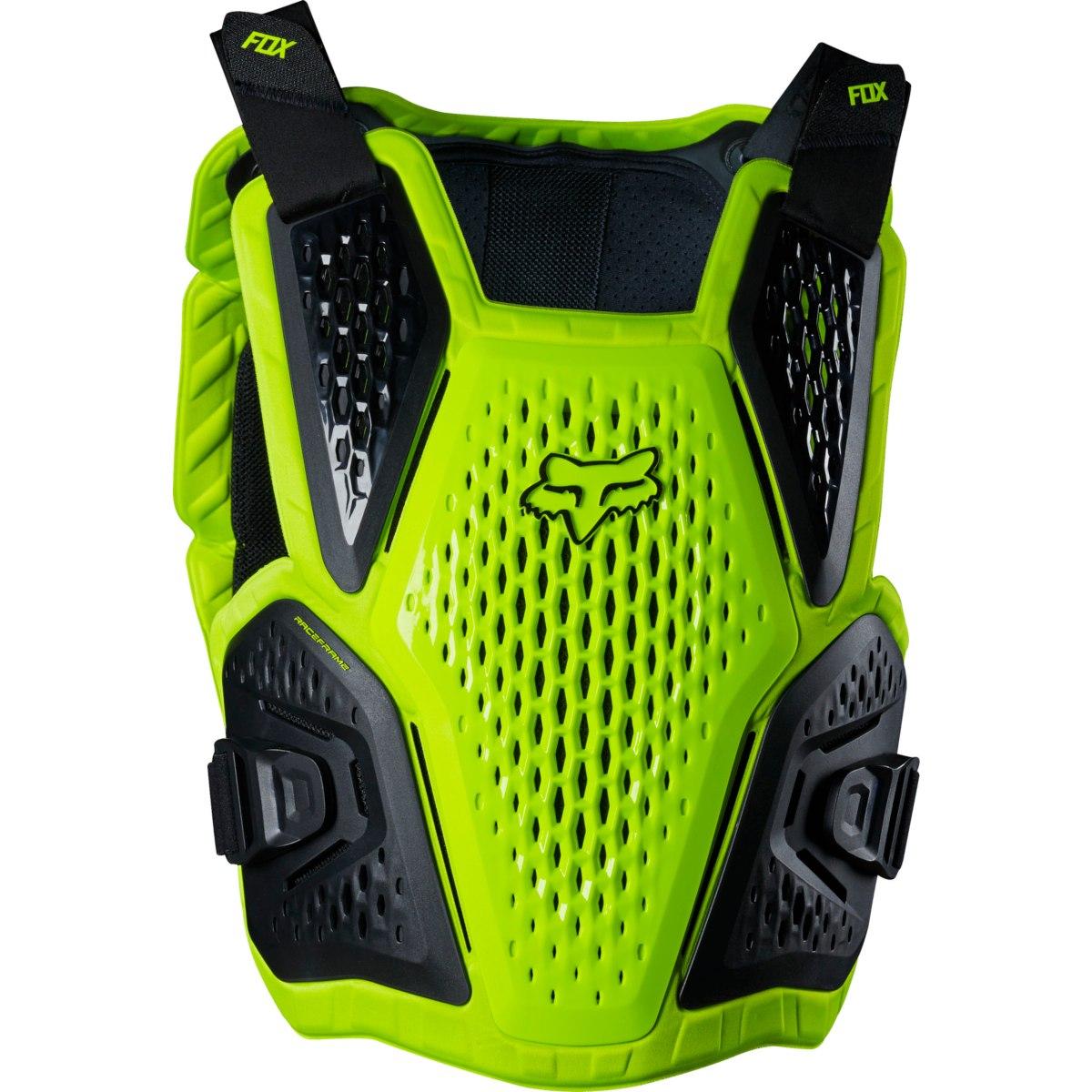 FOX Raceframe Impact CE Protector - flo yellow