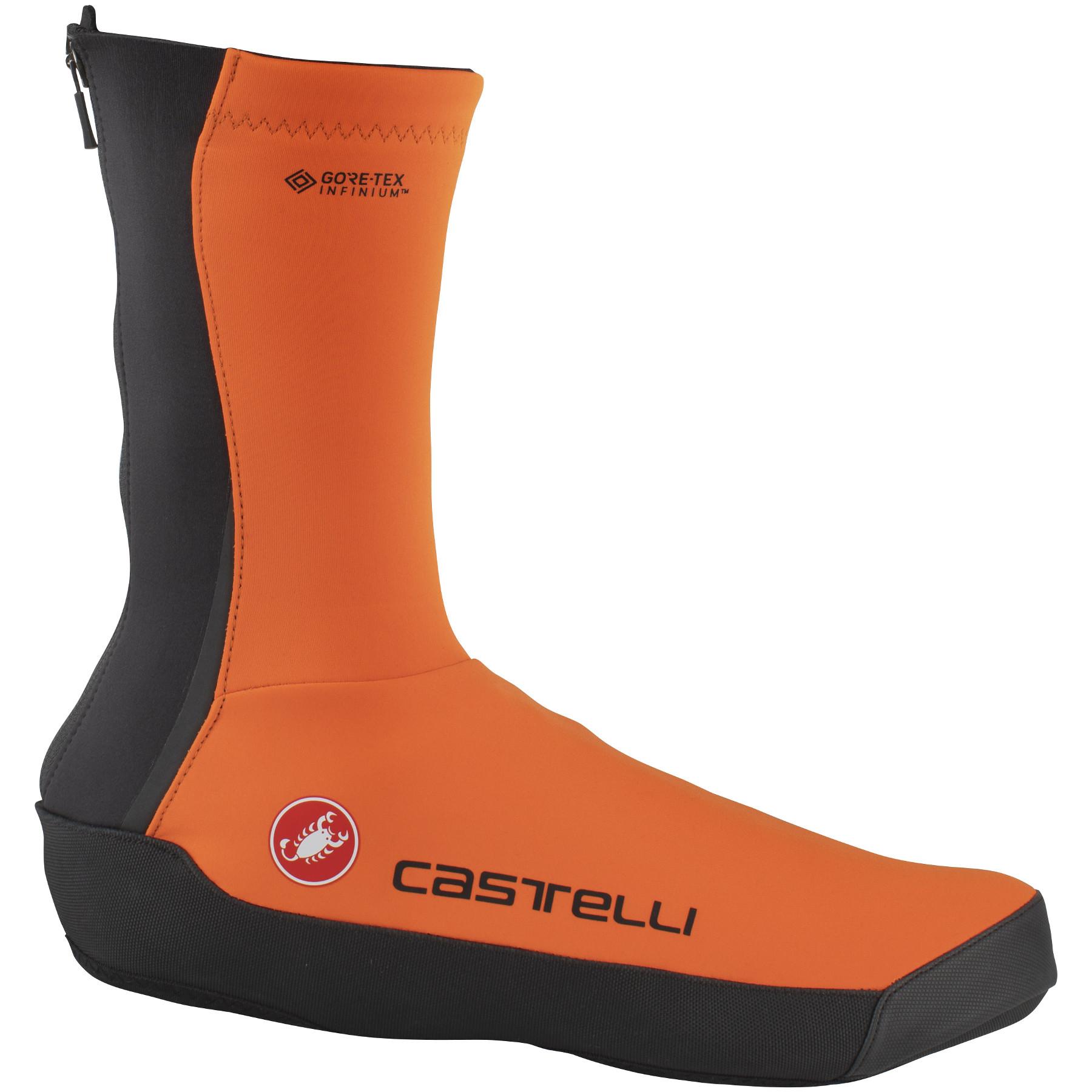 Castelli Intenso UL Überschuhe - orange 034