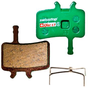 SwissStop Disc 17 Brake Pads for Avid Juicy 3 / 5 / 7 / Carbon / Ultimate / BB7
