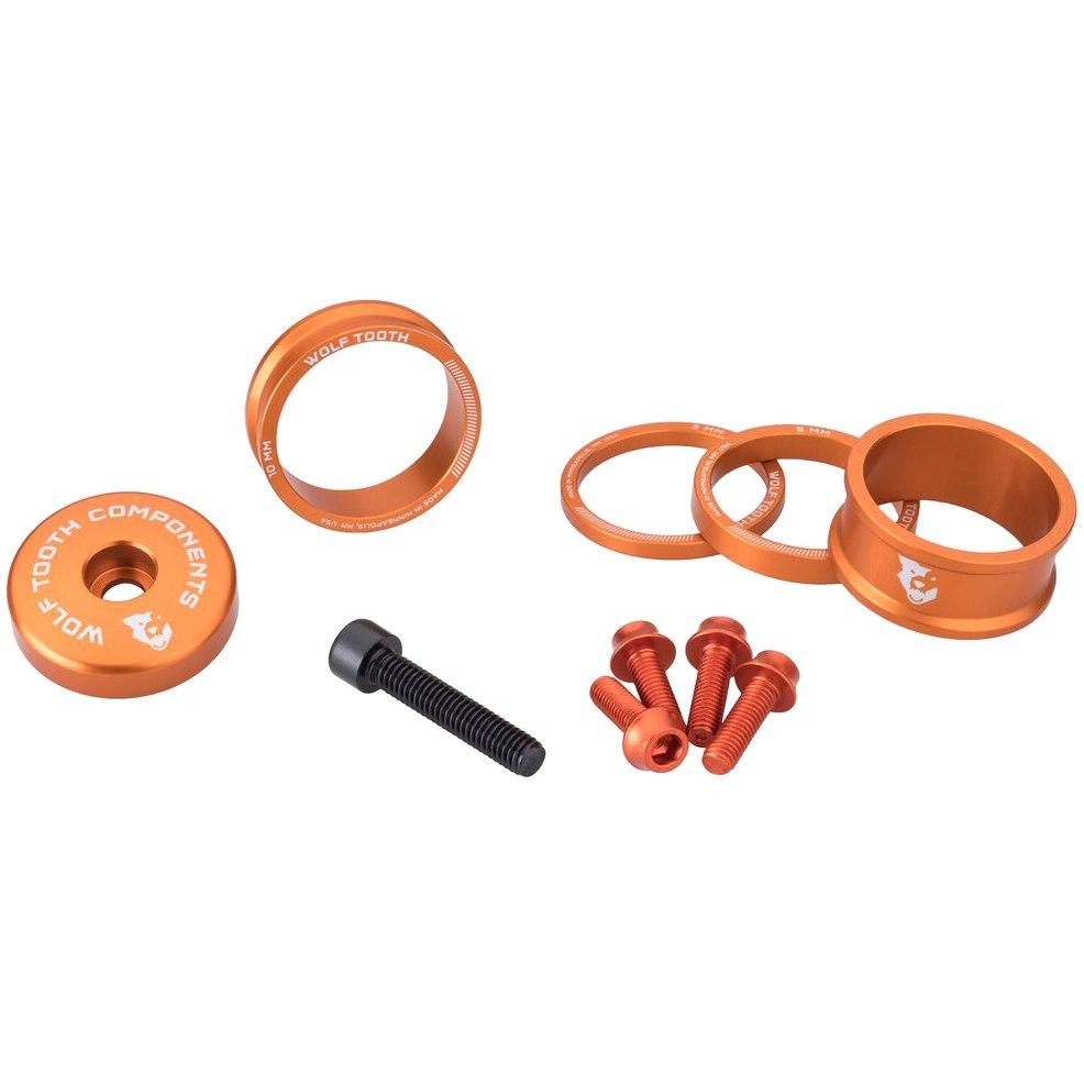 Wolf Tooth Bling Kit - orange