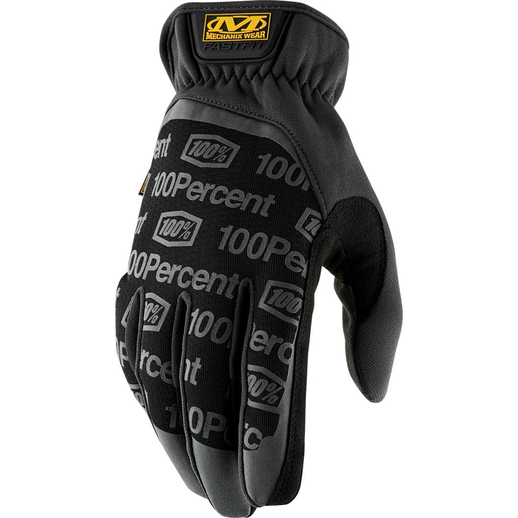 100% Mechanix Wear FastFit Guantes de Taller - black
