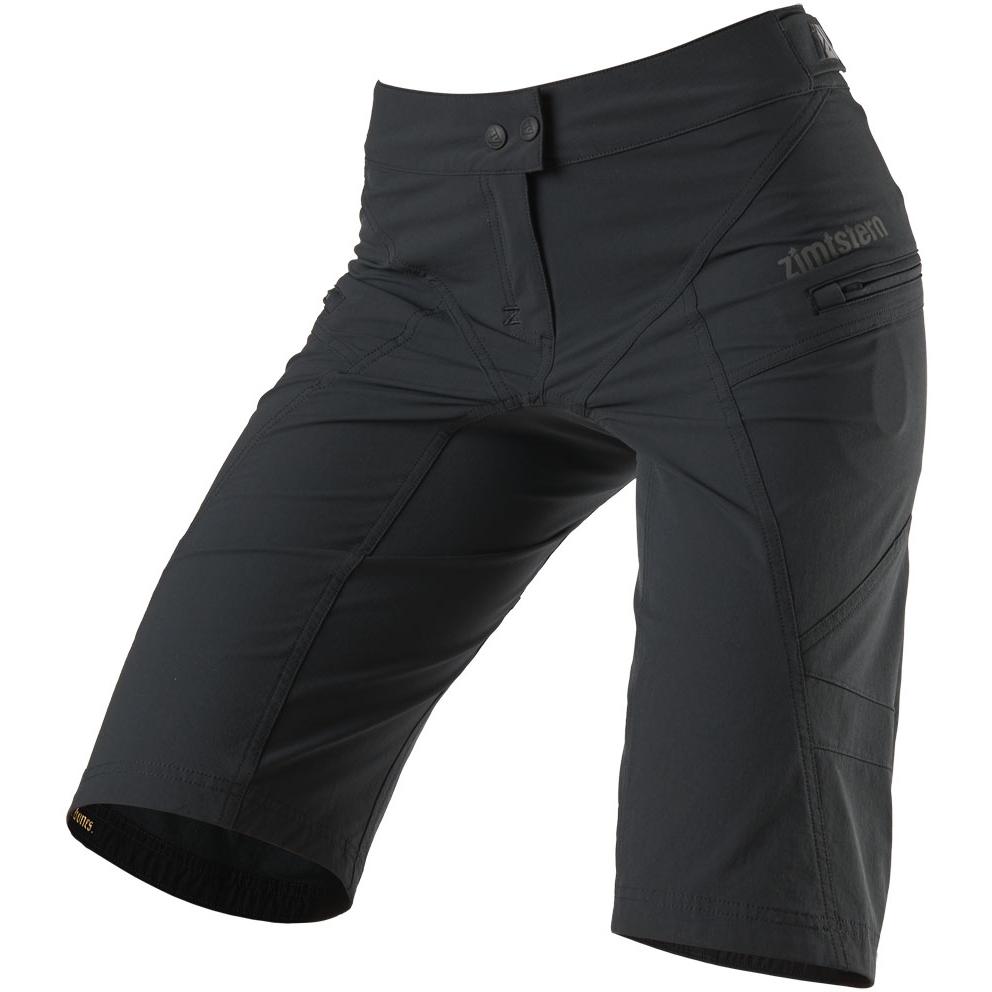 Zimtstern Startrackz Evo MTB-Shorts für Damen - pirate black/black