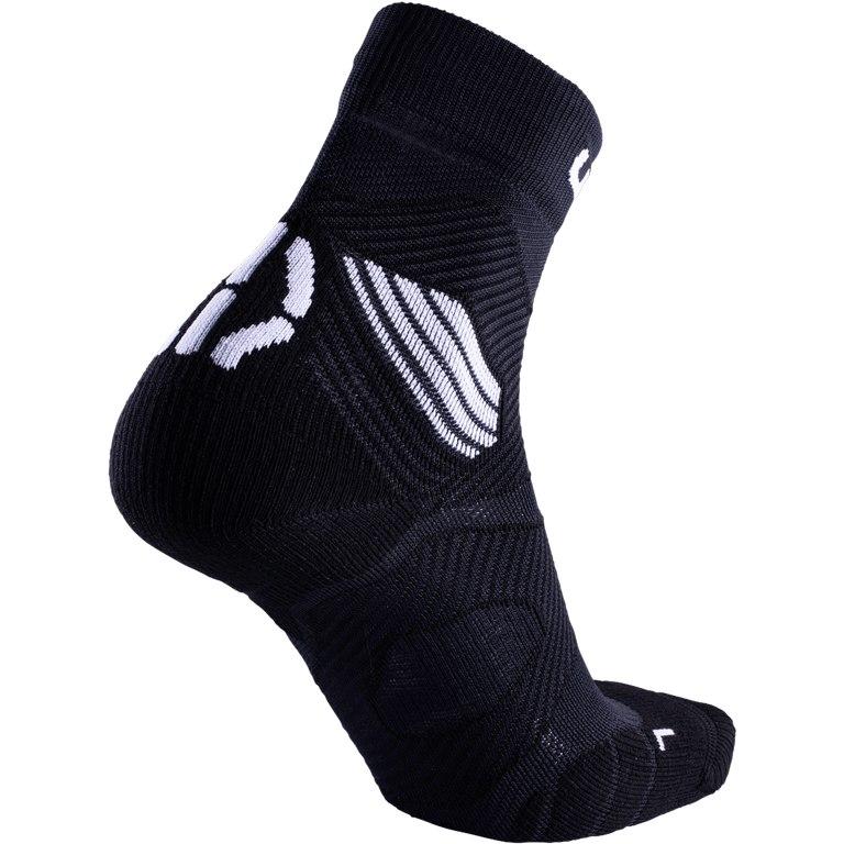 Bild von UYN Run Trail Challenge Socken Damen - Schwarz/Weiß