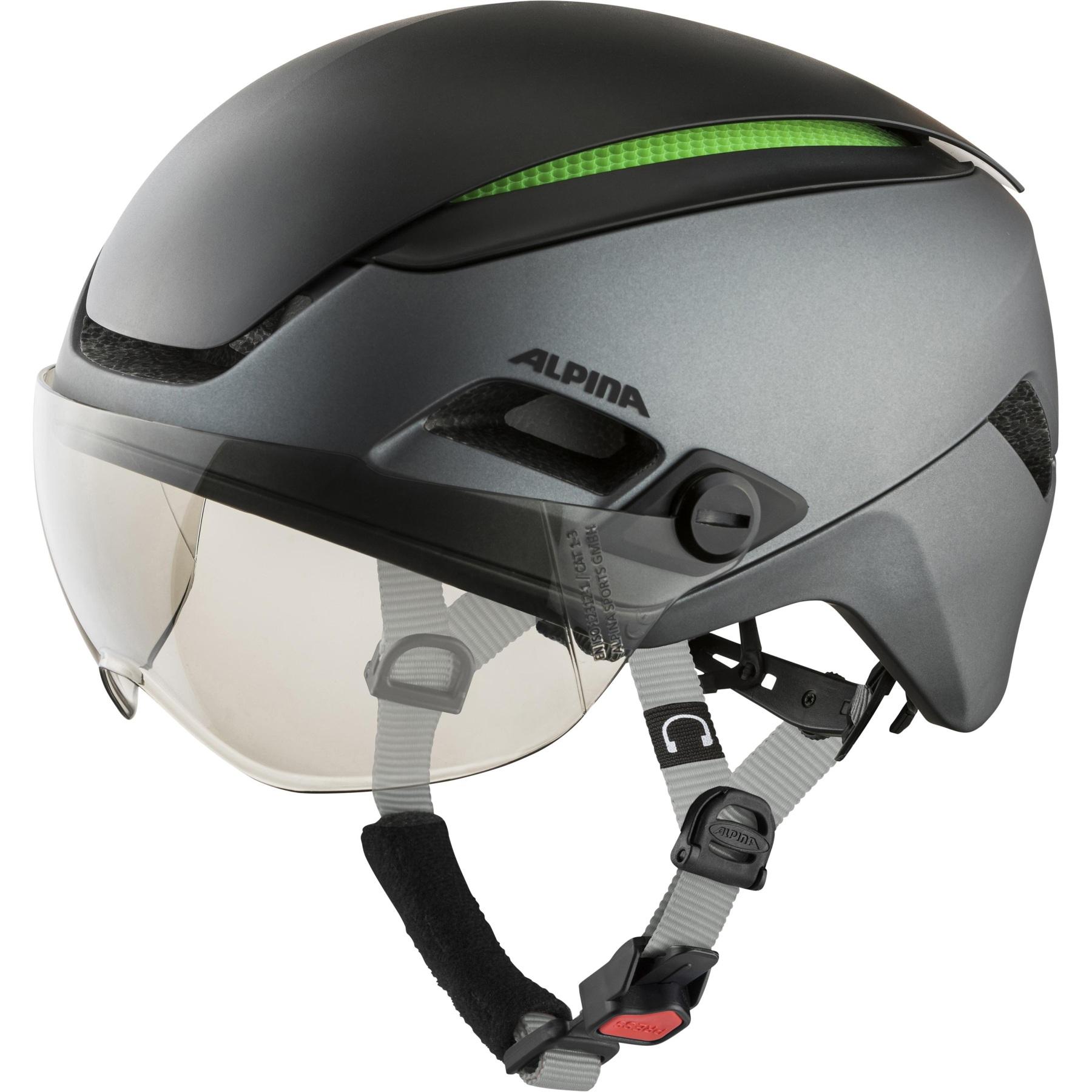 Alpina Altona VM Helmet - charcoal-anthr. matt