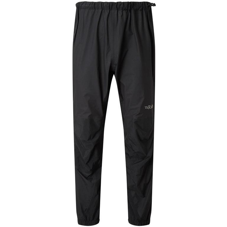 Rab Zenith Pants Regenhose - black