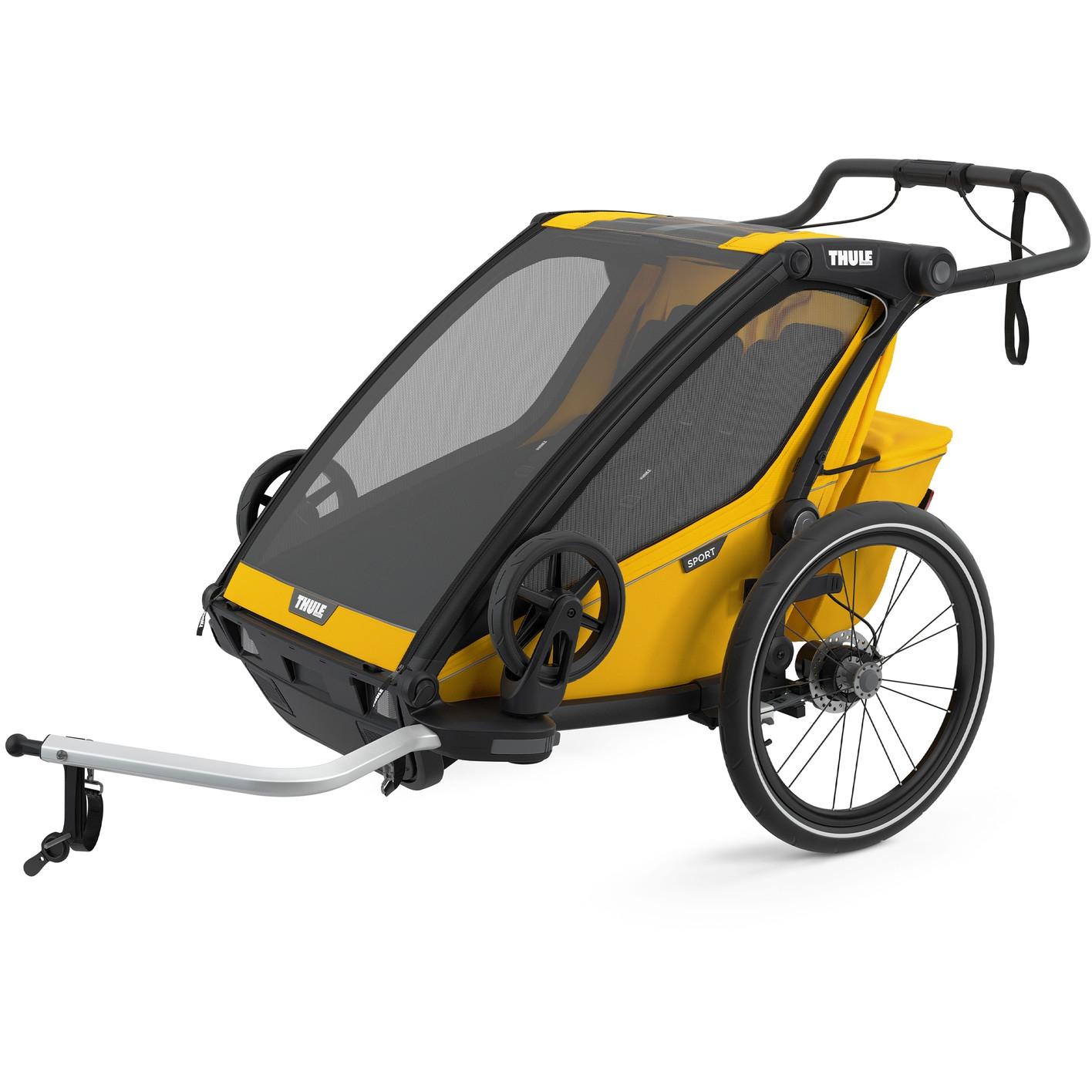 Foto de Thule Chariot Sport 2 - Remolque de bicicleta para 2 niños - spectra yellow