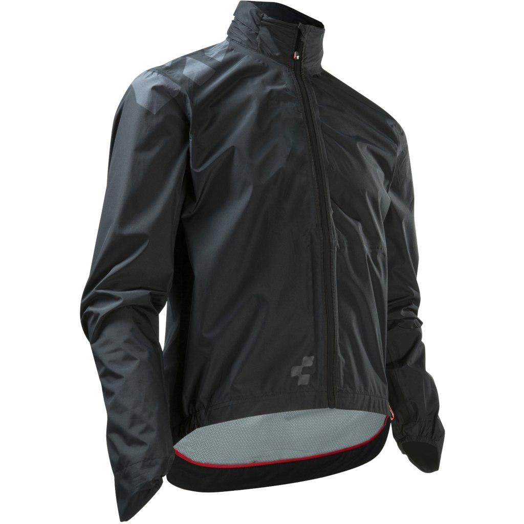 CUBE BLACKLINE Rain Jacket - black´n´grey