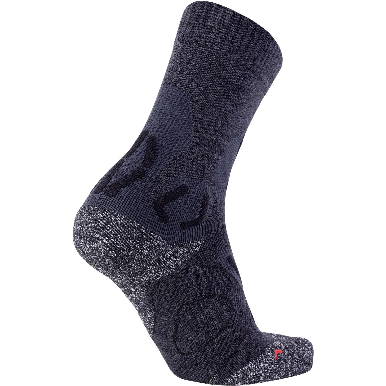 Bild von UYN Nature Merino Trekking Socken - Anthracite/Black