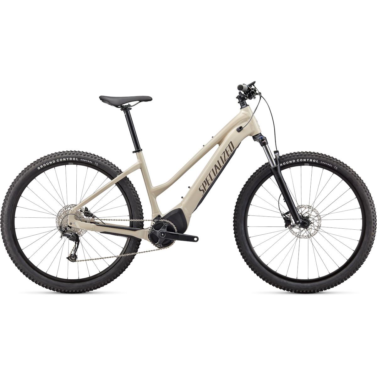 Produktbild von Specialized TURBO TERO 3.0 - Step-Through MTB E-Bike - 2022 - white mountains / gunmetal