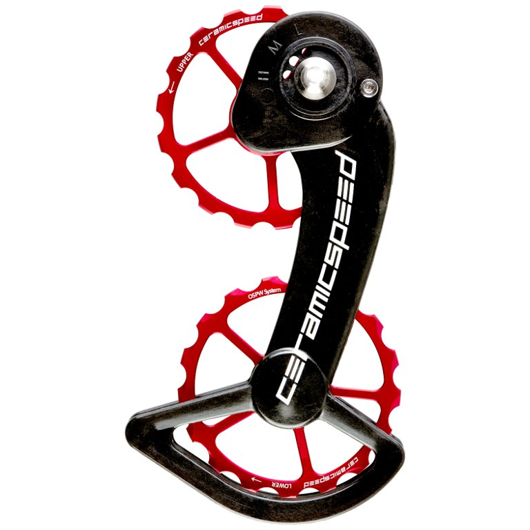 CeramicSpeed OSPW Pulley Wheels for SRAM eTap - red