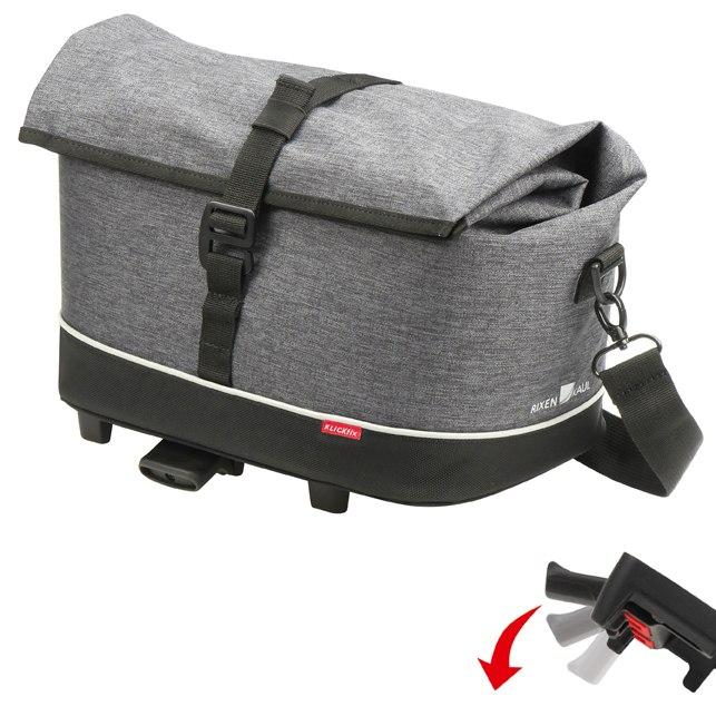 KLICKfix Rackpack City UniKlip 0265UK - grey