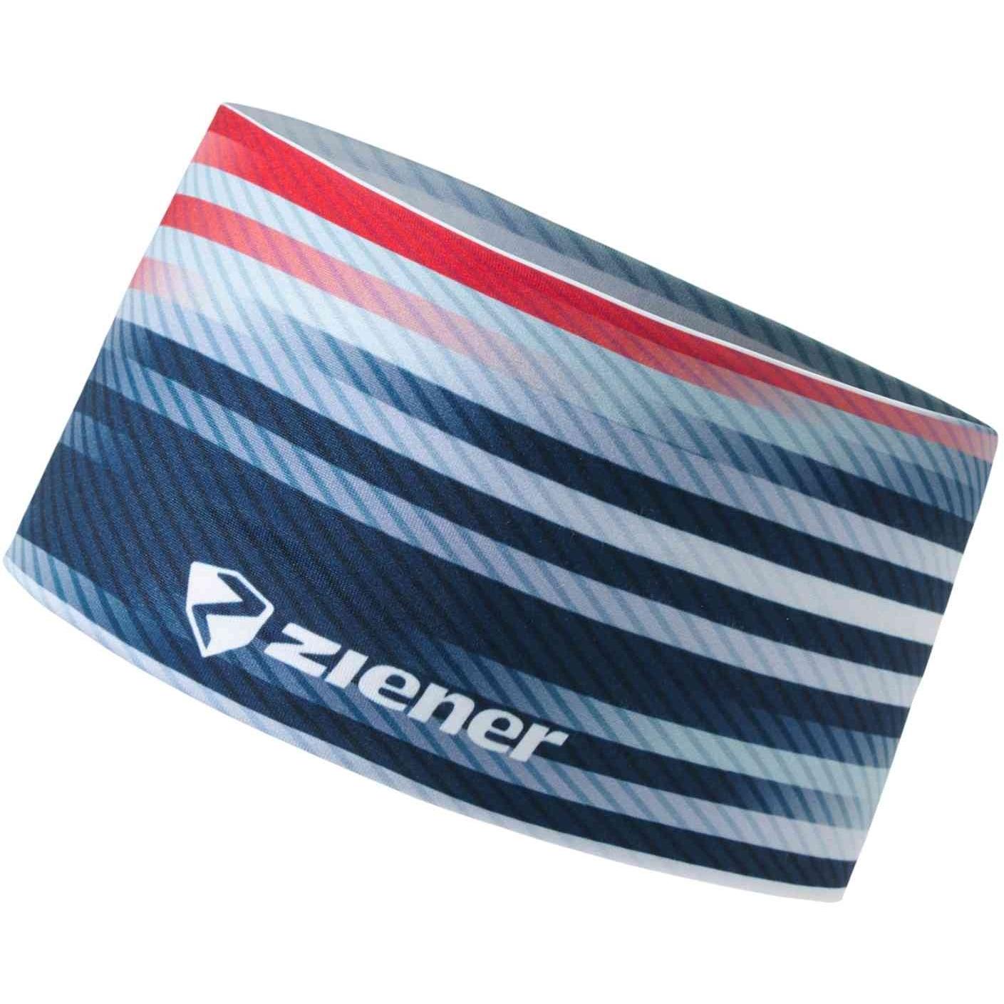 Image of Ziener Immre Headband - dark navy stripe