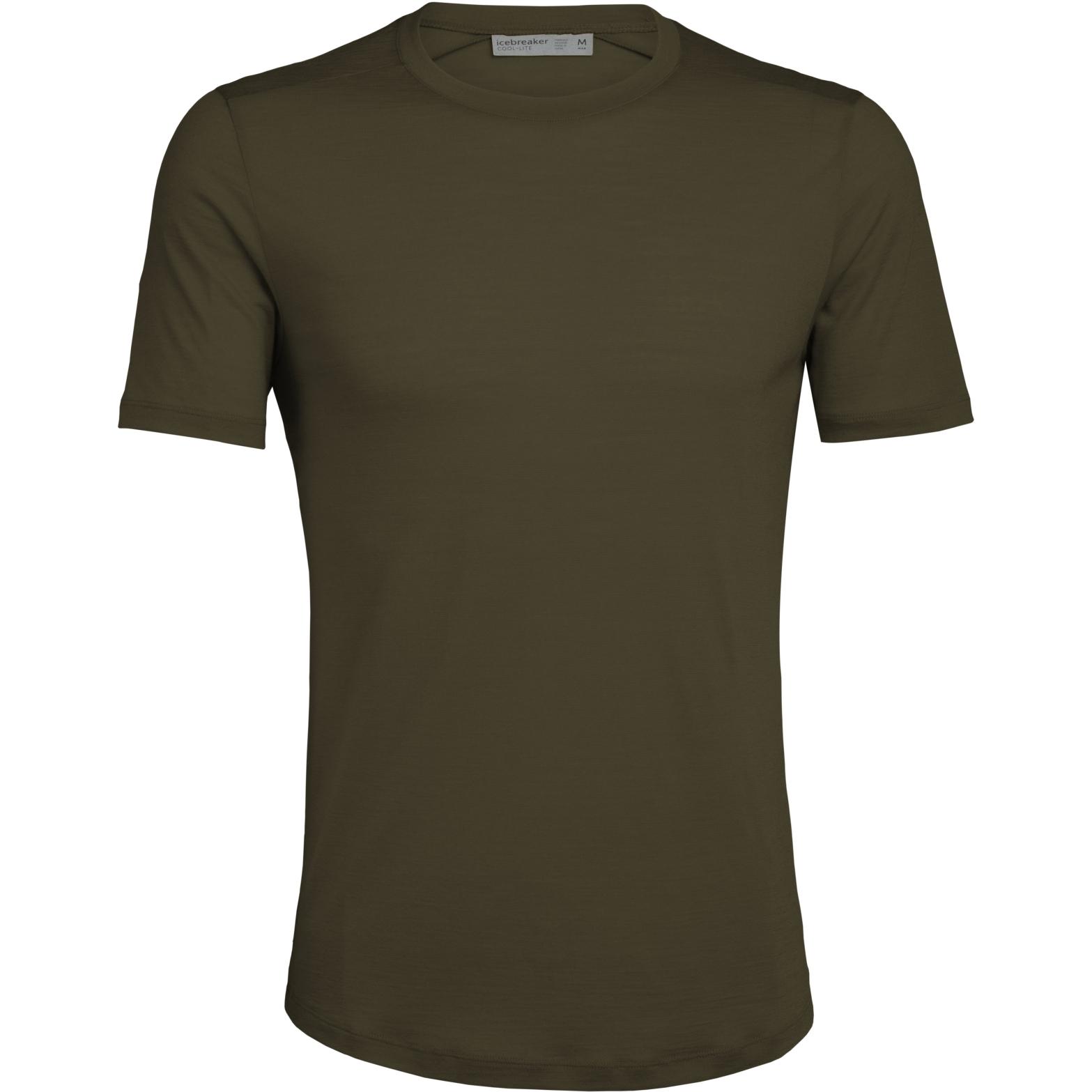 Produktbild von Icebreaker Sphere Crewe Herren T-Shirt - Loden