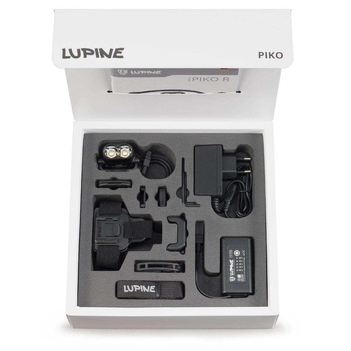 Produktbild von Lupine Piko R All-in-One Helm- /Stirnlampe Kombi-Set - 2100 lm