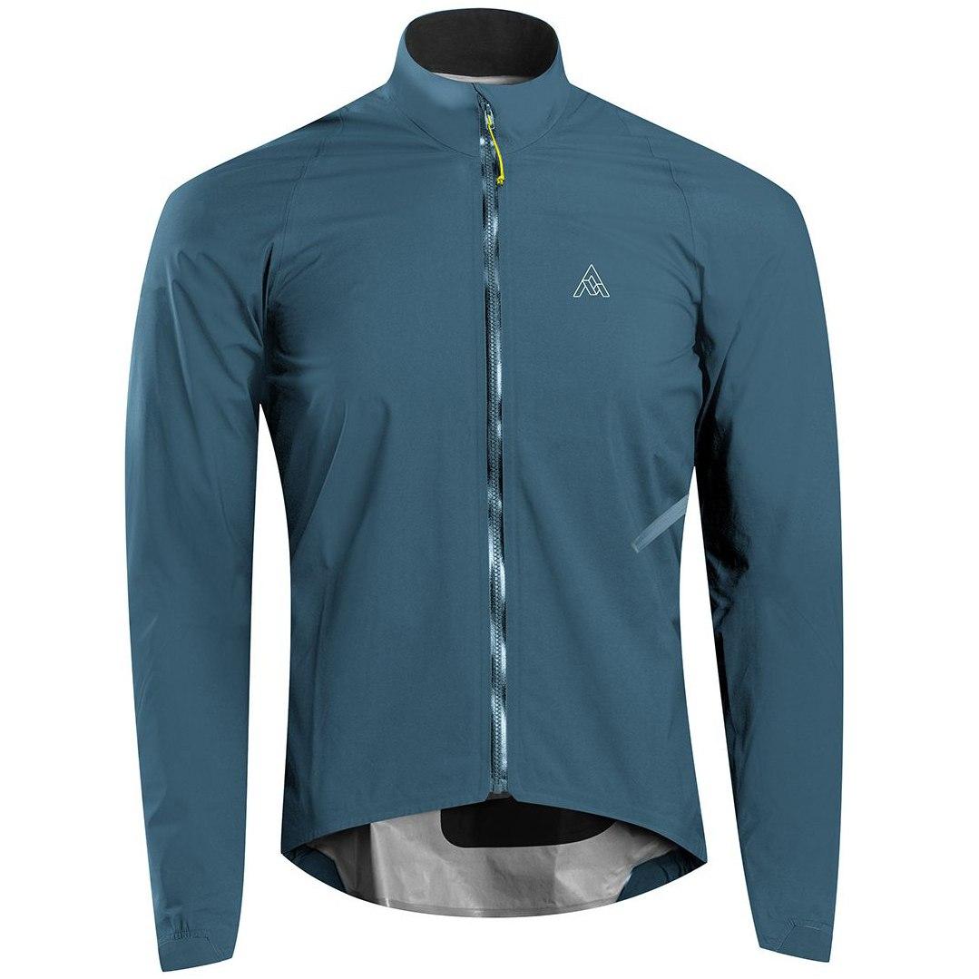 7mesh Rebellion Jacket Chaqueta impermeable para hombres - Mallard Blue