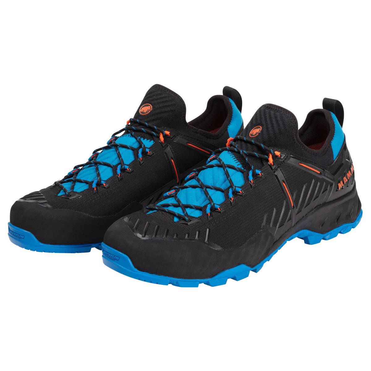 Mammut Alnasca Knit II Low GTX Shoes Men - black-tarn