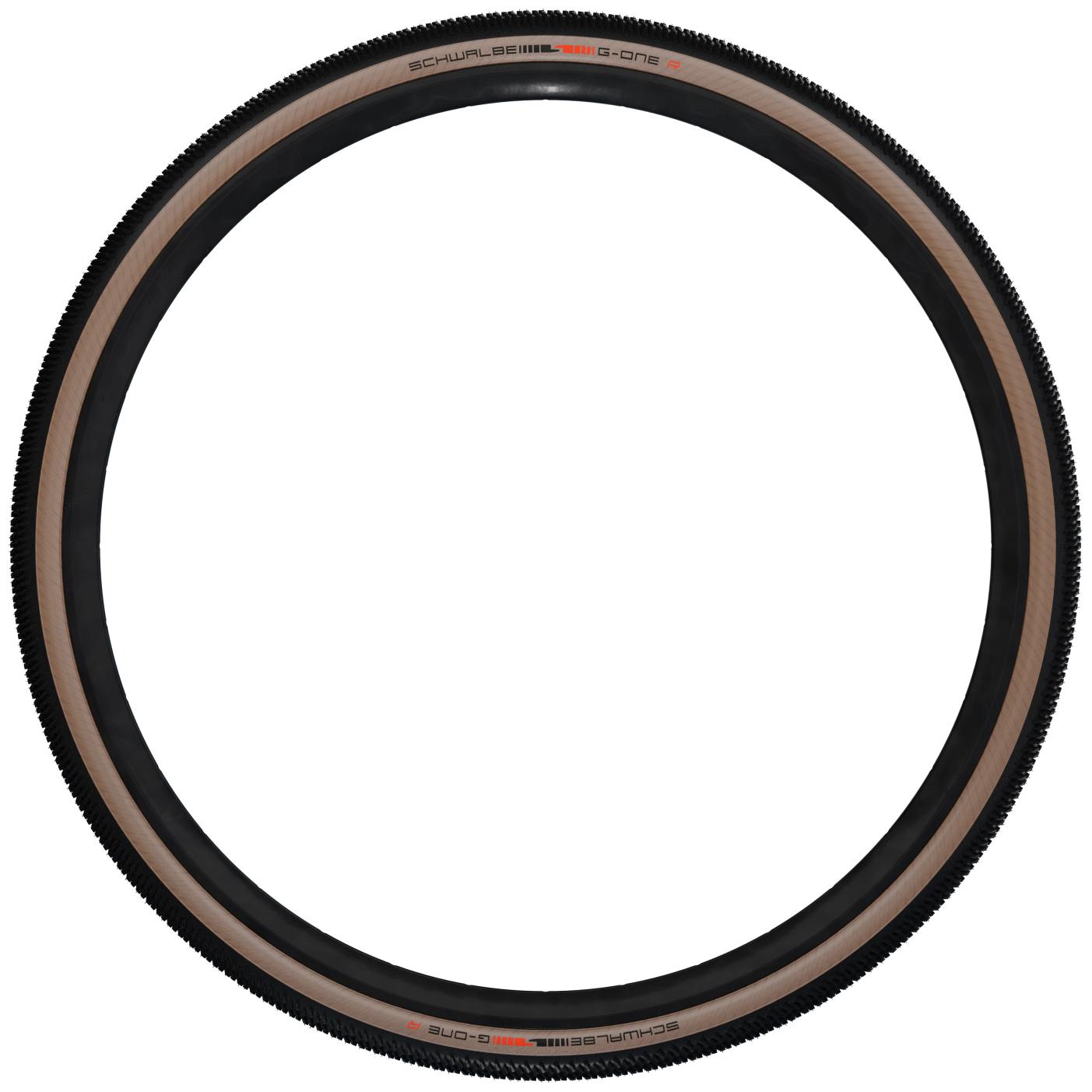 Image of Schwalbe G-One R TLE Folding Tire - Super Race - V-Guard - Addix Race - 45-622 - Transparent-Skin