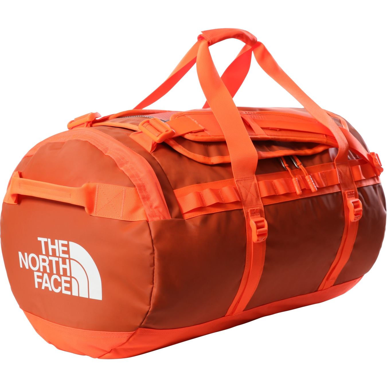 Picture of The North Face Base Camp Duffel - M - Burnt Ochre/Power Orange
