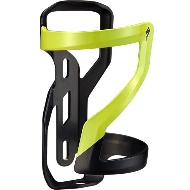 Specialized Zee Cage II - Right - Bottle Cage - Matte Black/Hyper Green
