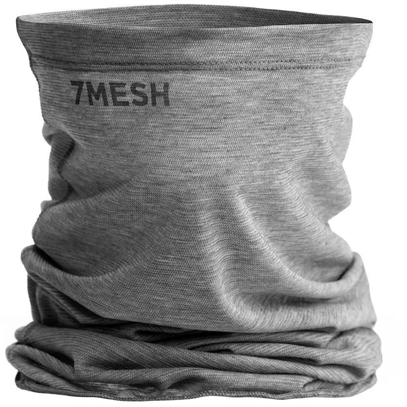 7mesh Elevate Braga de cuello - Pebble Grey