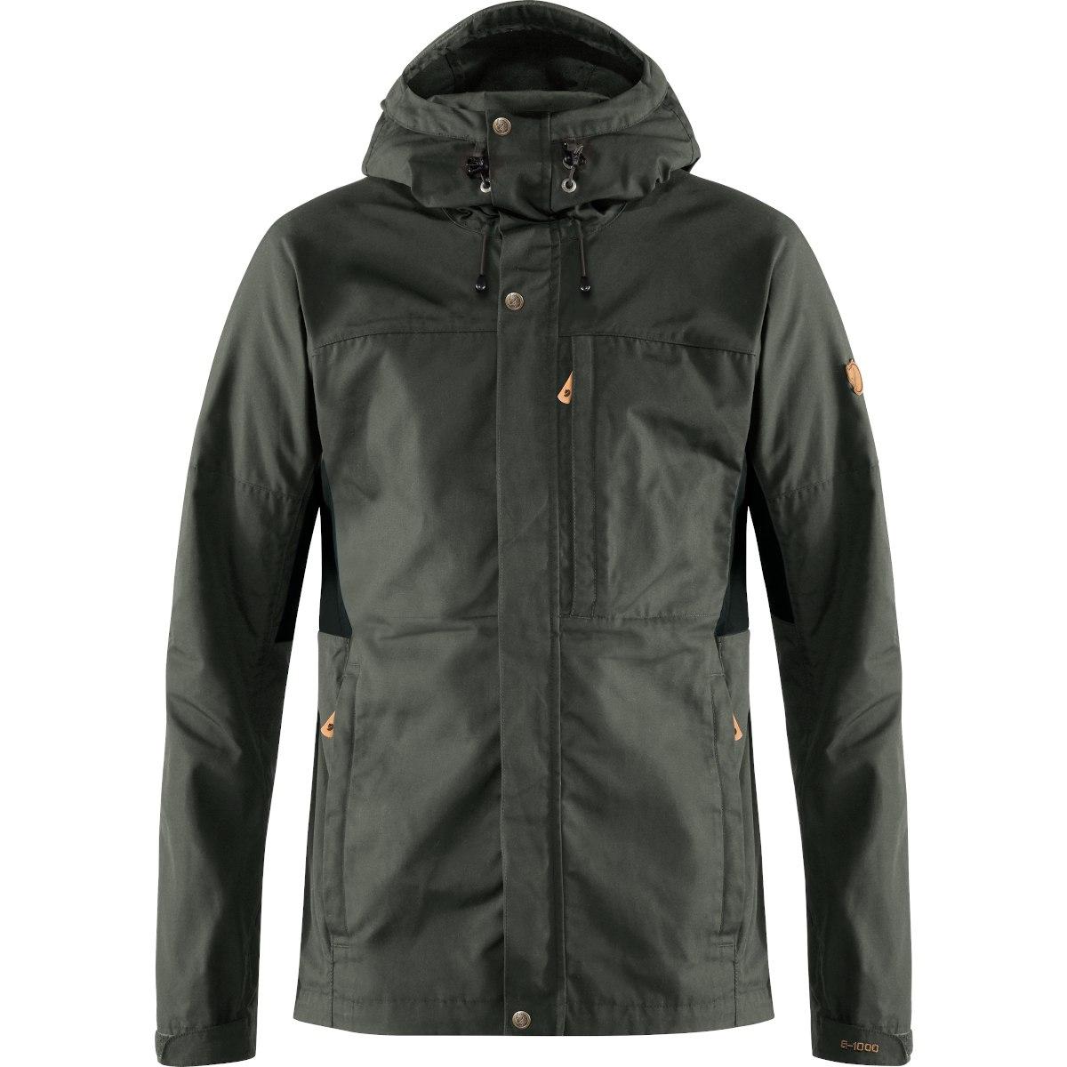 Fjällräven Kaipak Jacket - dark grey/black