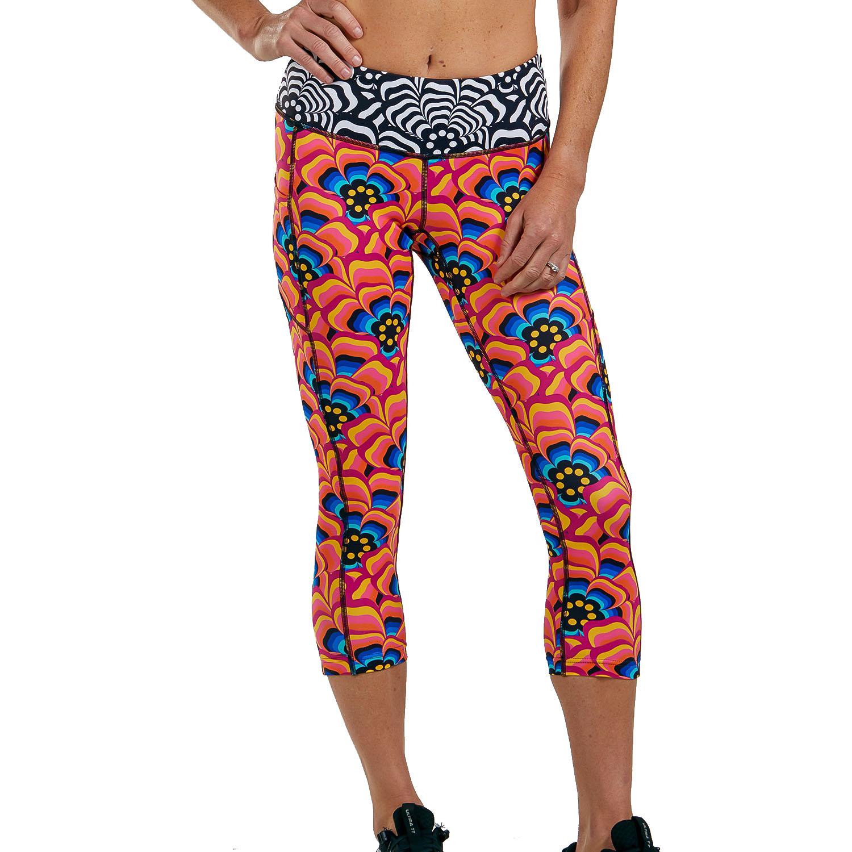 ZOOT LTD Run Pulse Capri Pantalones para Correr Mujer - tri love