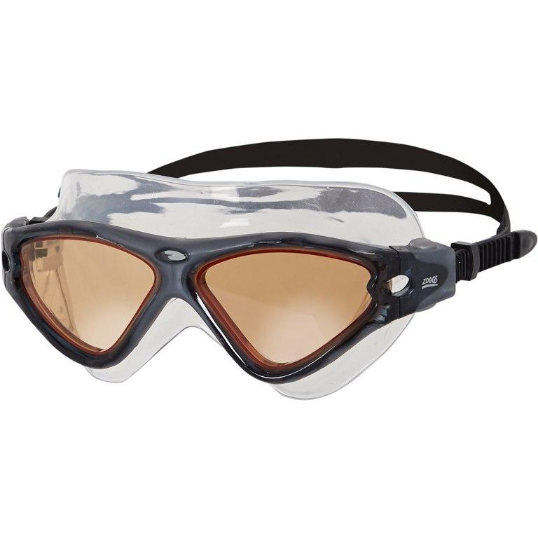 Zoggs Tri-Vision Mask Schwimmbrille - black/black/CV