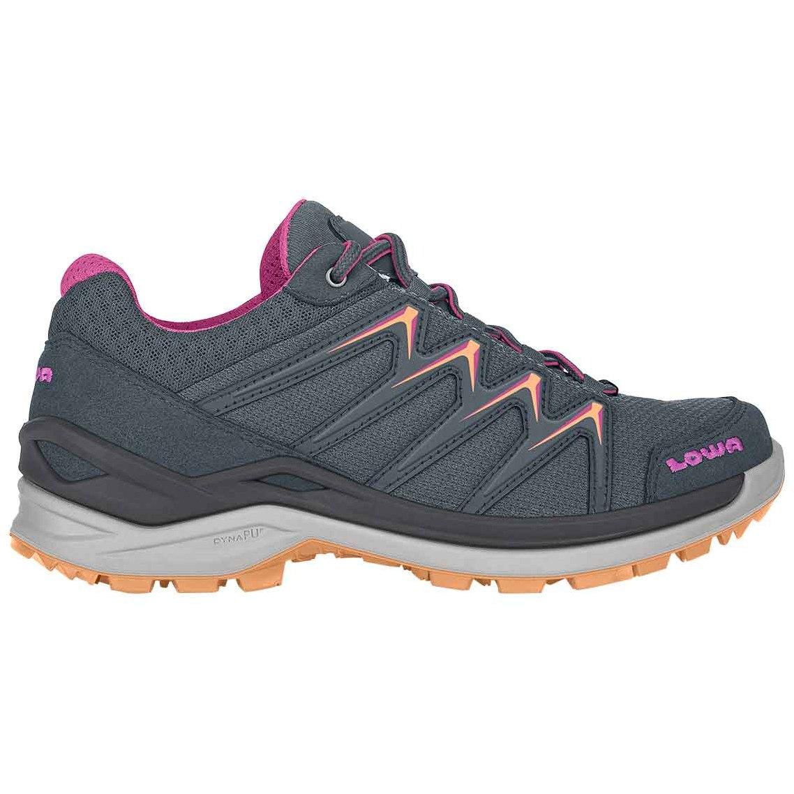 LOWA Innox Pro Lo Ws Women's Shoe - steel blue/mandarin