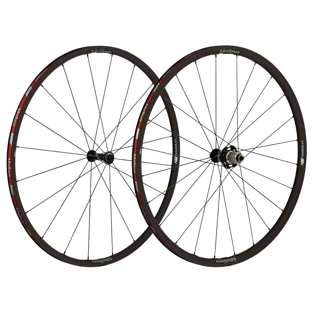 Vision TriMax 25 KB Wheelset - Tubeless Ready - Clincher - Shimano HG