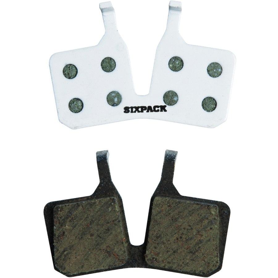 Sixpack Disc Brake Pads for Magura MT5 (4-piston) - organic
