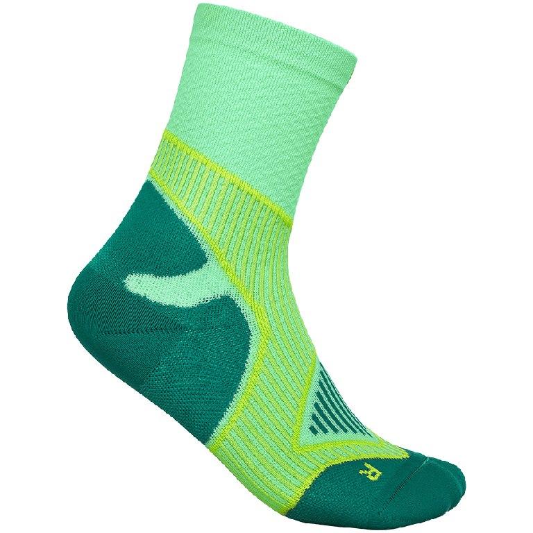 Bauerfeind Outdoor Performance Mid Cut Socks Women - green