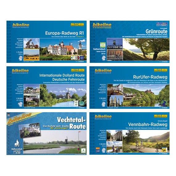 Bikeline Radtourenbücher - Deutschland/Benelux