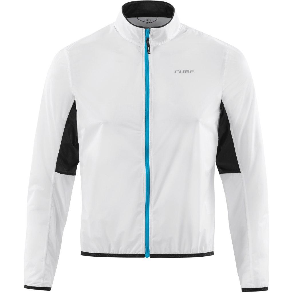 CUBE TEAMLINE Jacket Repulse - white